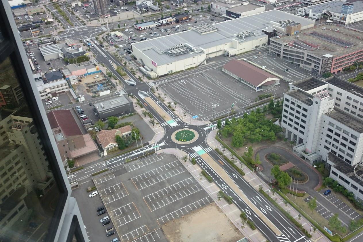 宇多津ゴールドタワーソラキン天空4Fからの眺望