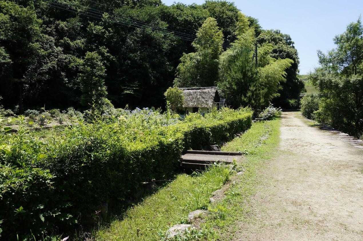 ほたる見公園の水車小屋