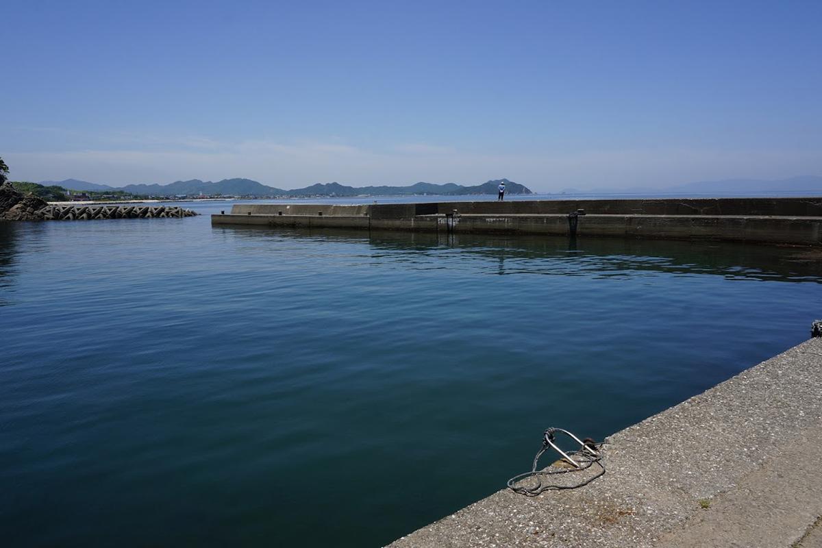 北灘町碁浦漁港