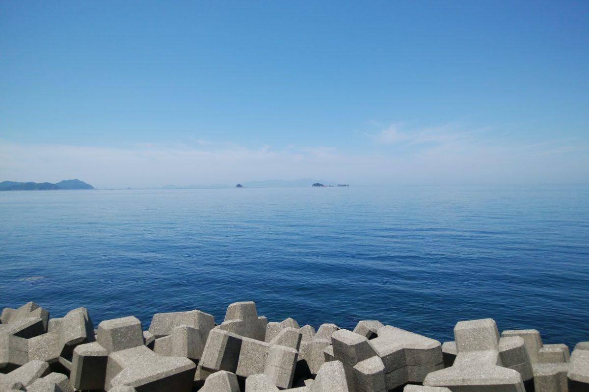 うずしおロマンチック海道彫刻公園から見る瀬戸内海