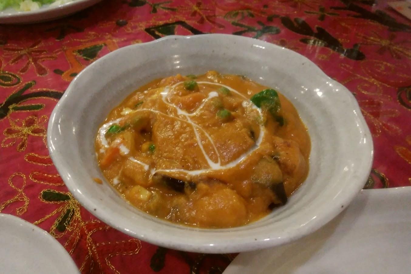 チシティ 野菜のカレー