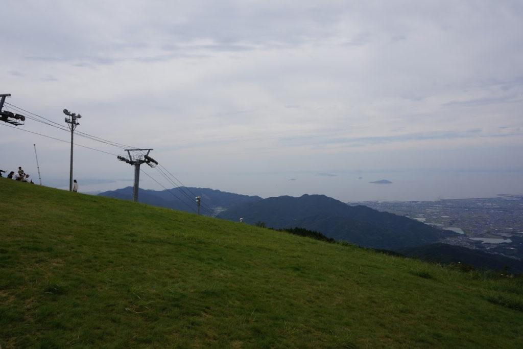 雲辺寺山頂公園のリフト