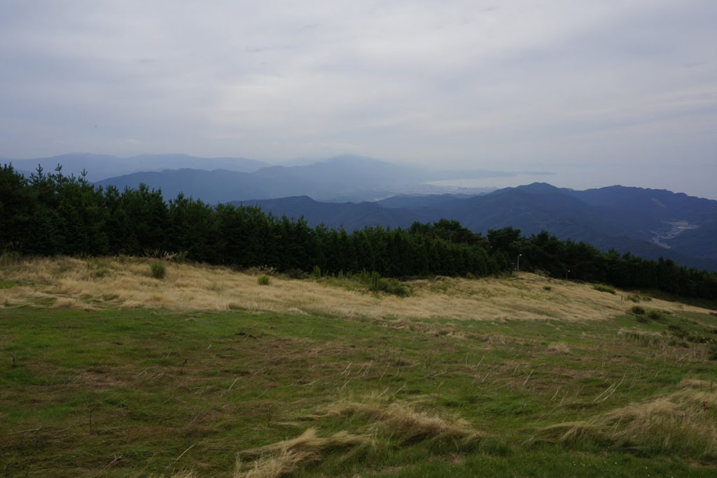 雲辺寺山頂公園から四国中央市