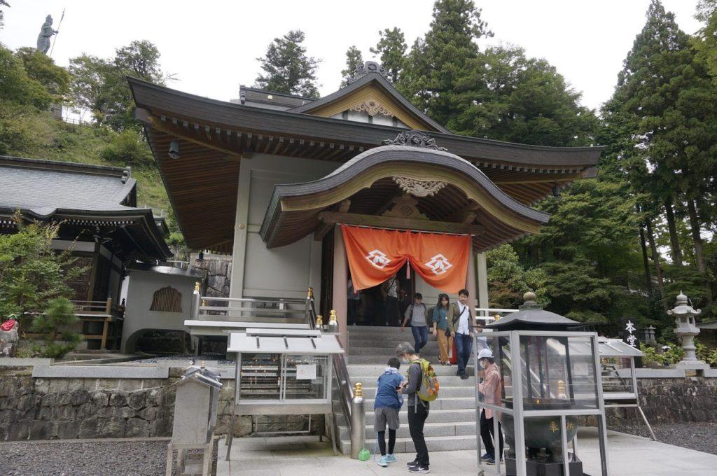 雲辺寺本堂