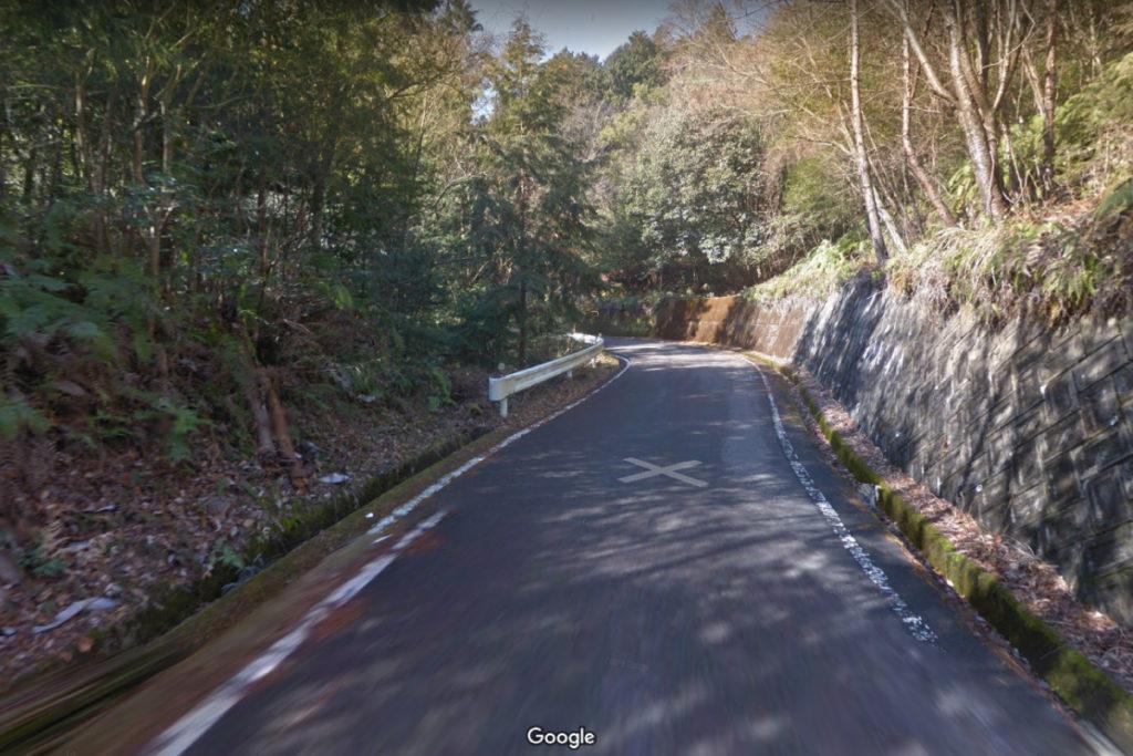 美霞洞渓谷の場所