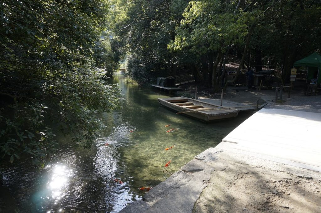 栗林公園 和船乗り場