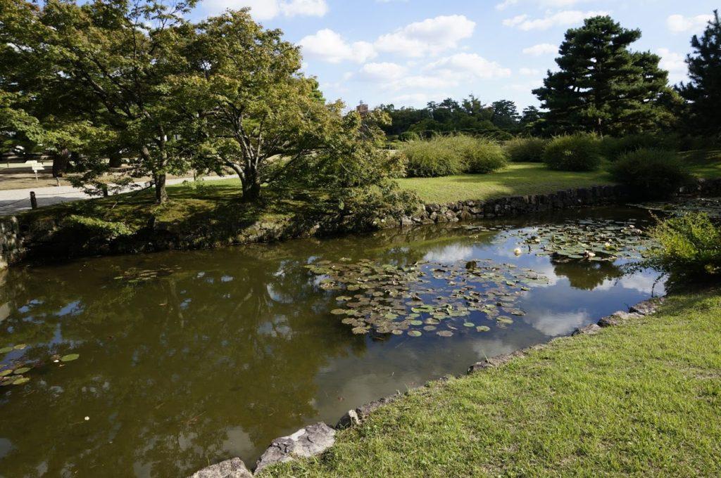 栗林公園 潺湲池