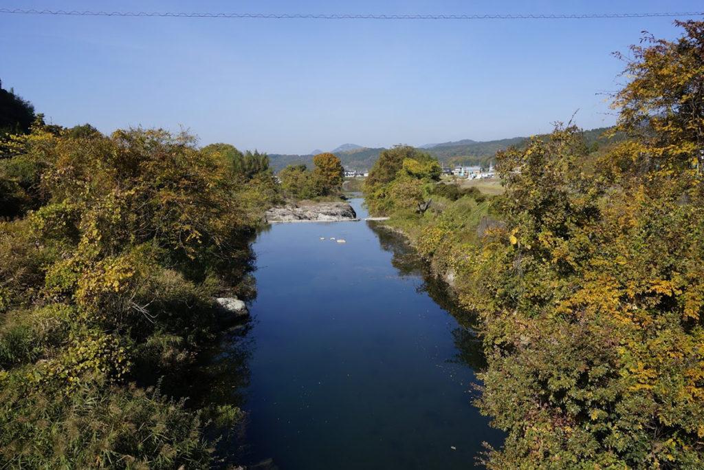 天川高橋から琴平方面