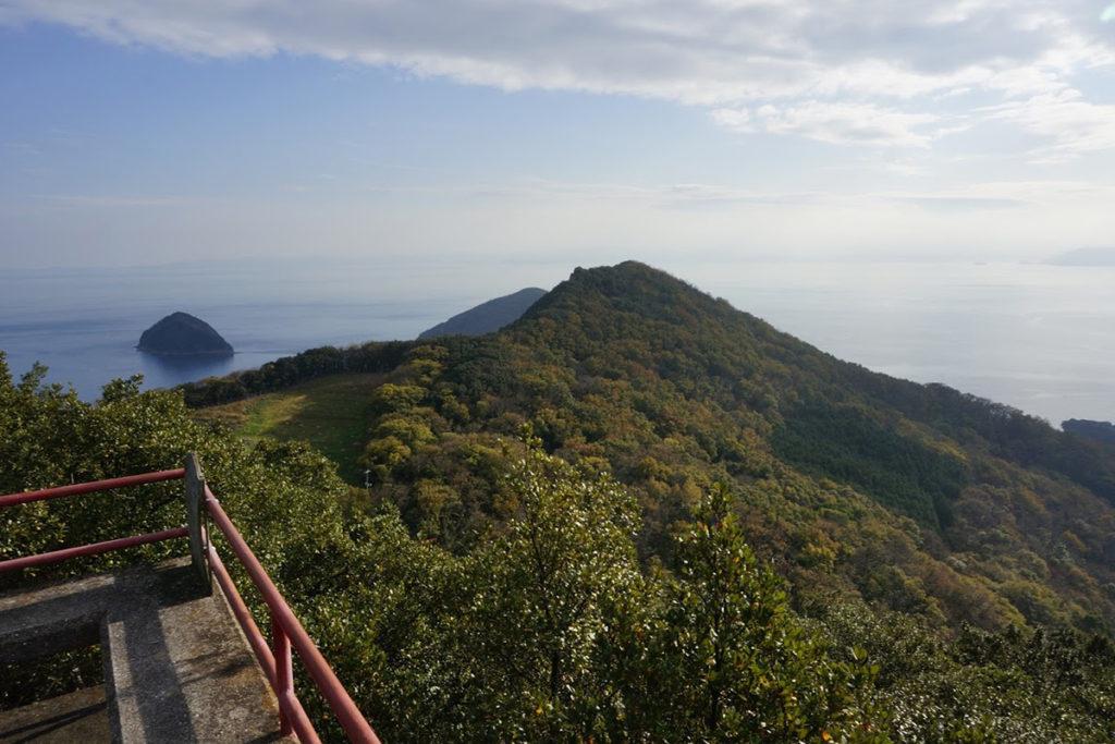 洞雲山展望台からの眺め