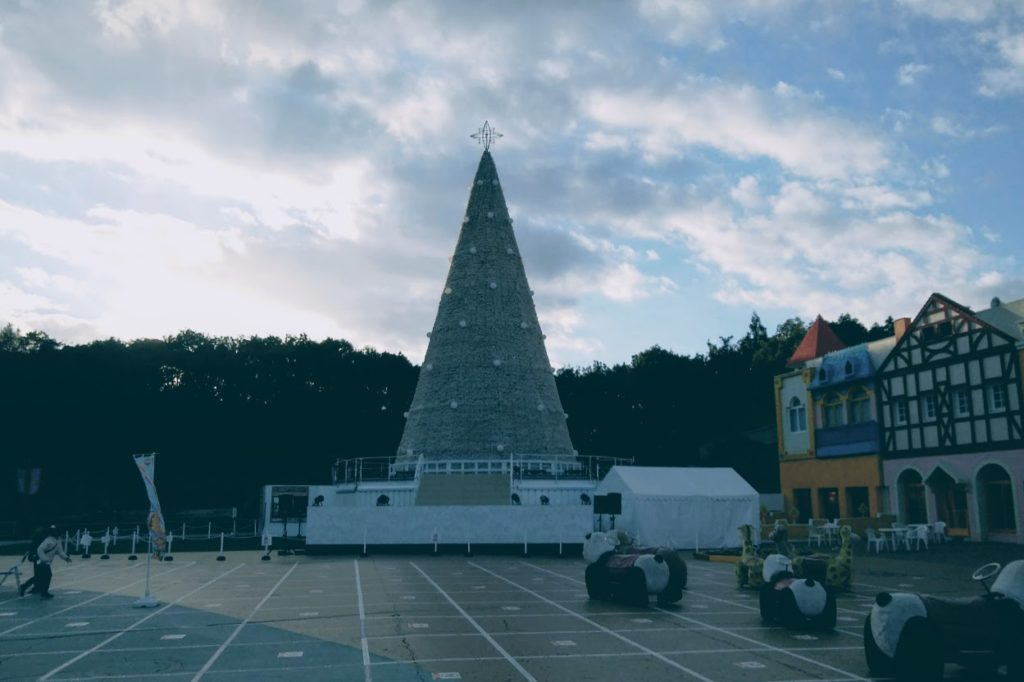 レオマワールド クリスマスツリー