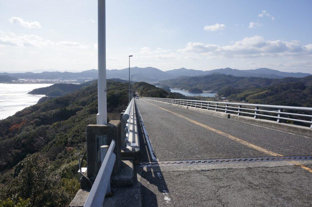 四方見展望台から四方見橋