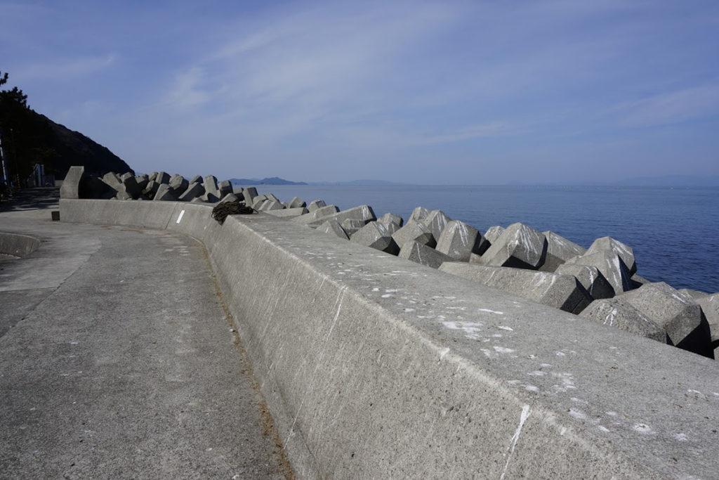 きたなだ海の駅浜風散歩道