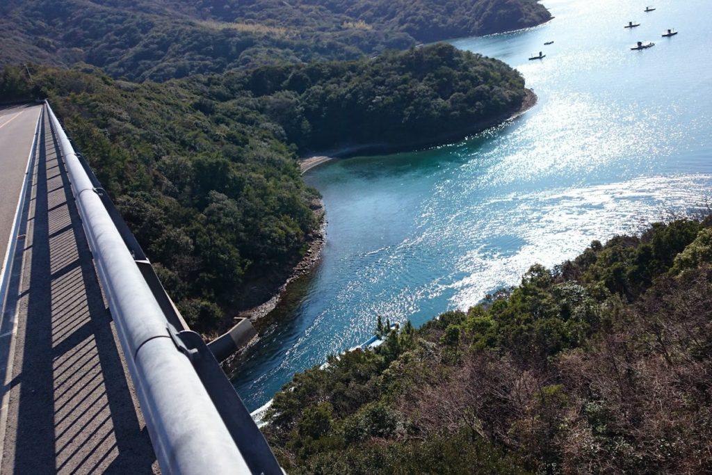 鳴門堀越橋からウチノ海