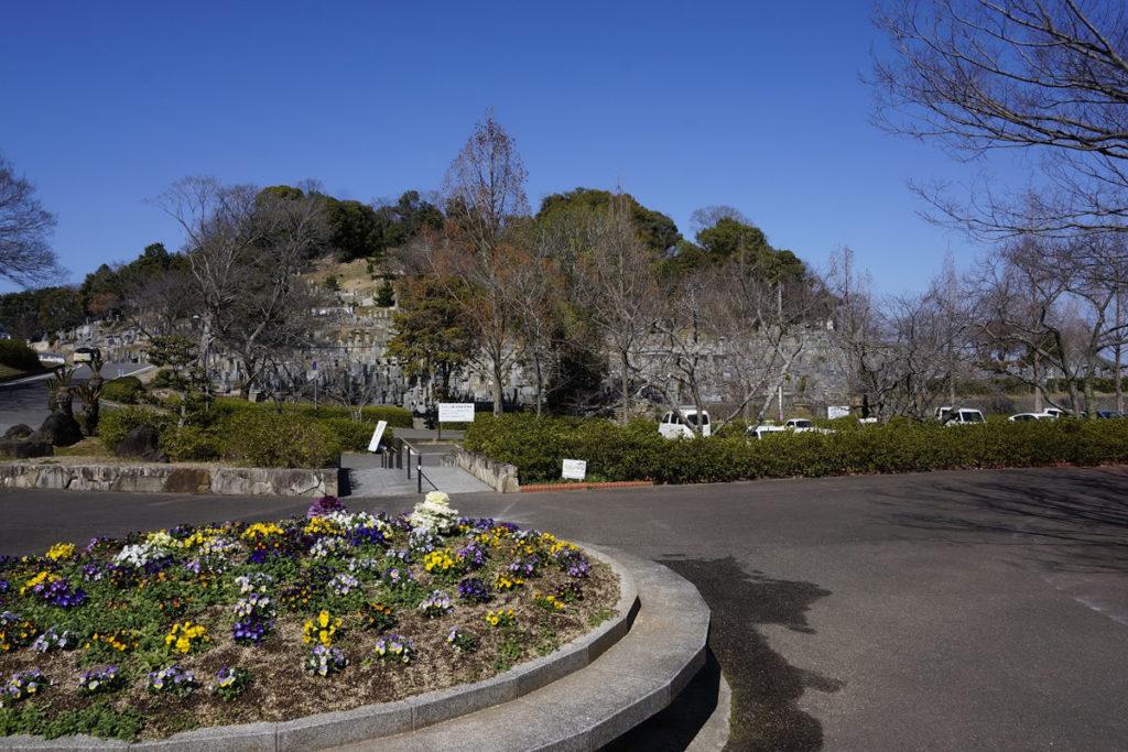 仏生山公園の駐車場