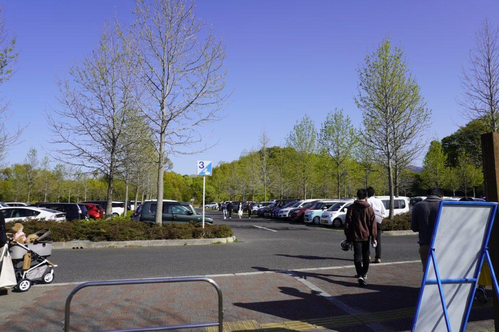 まんのう公園花巡りの丘北駐車場