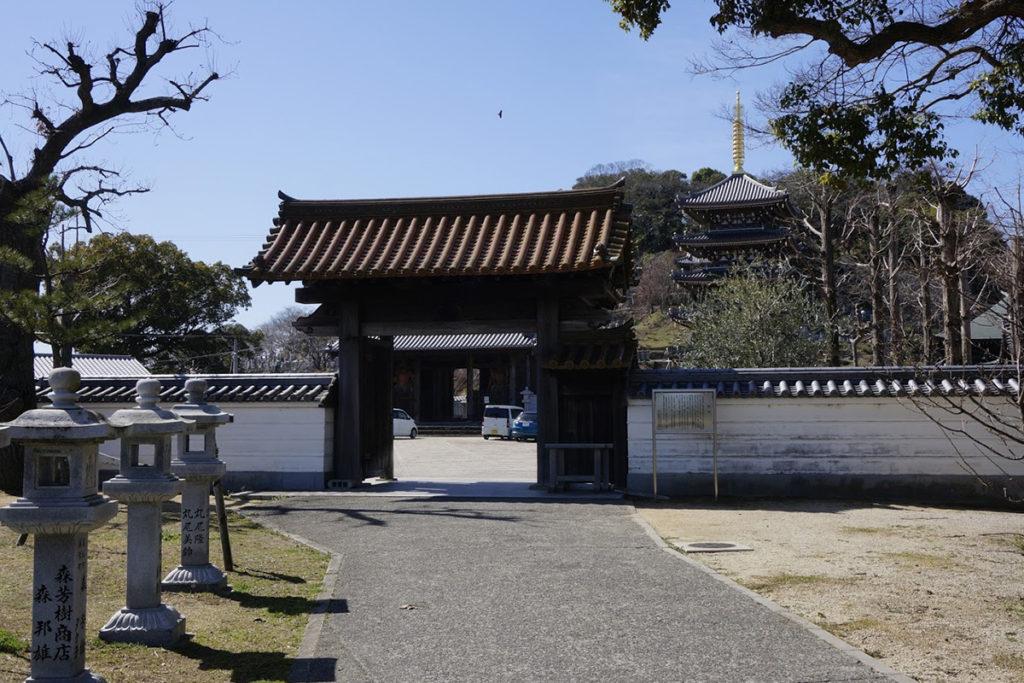 法然寺黒門