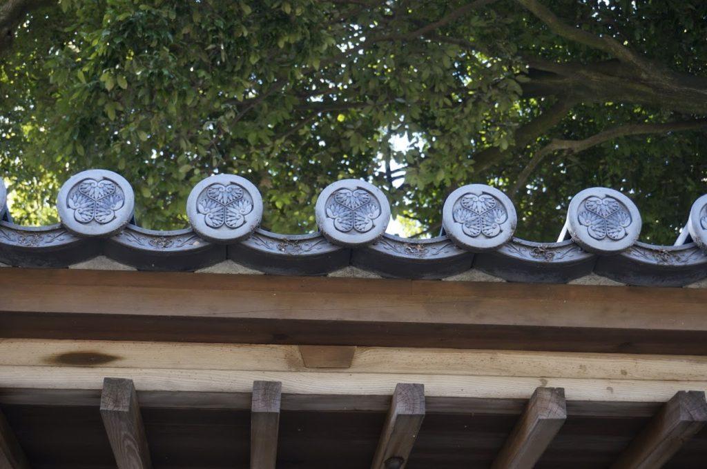 法然寺般若台の軒丸瓦