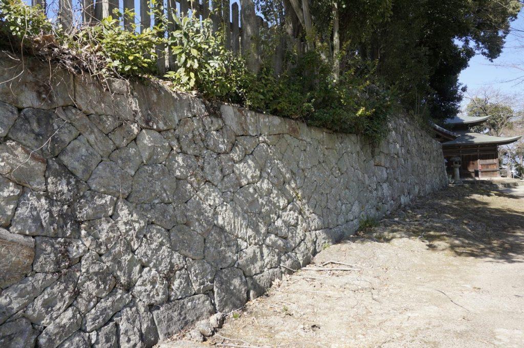 法然寺般若台の石垣