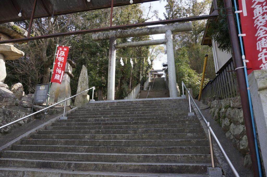 ちきり神社石段参道