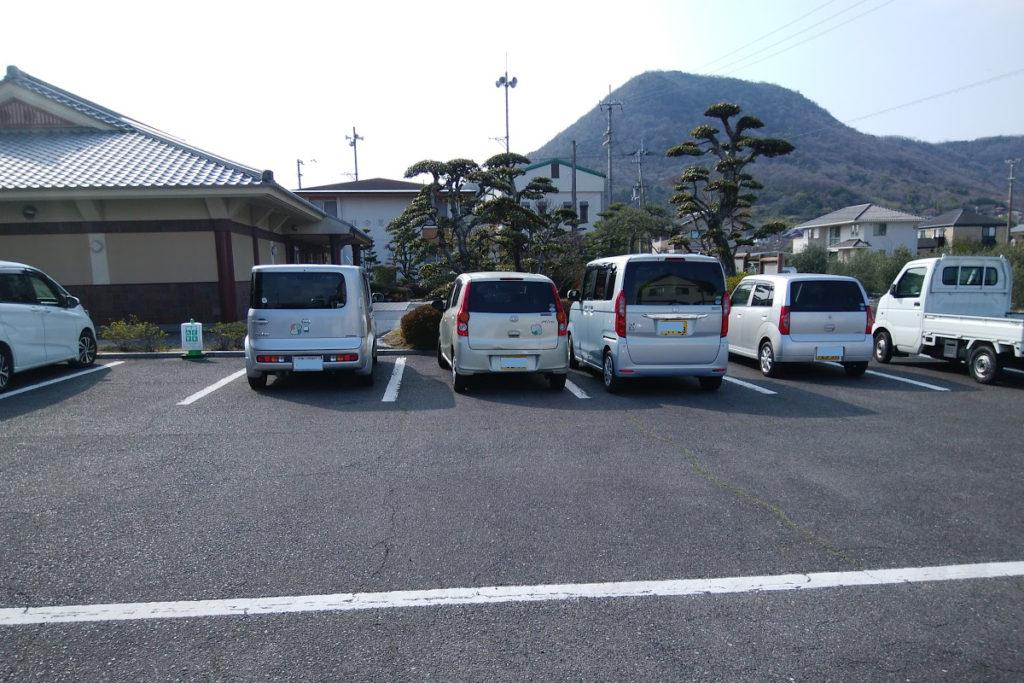讃岐国分寺跡資料館の駐車場