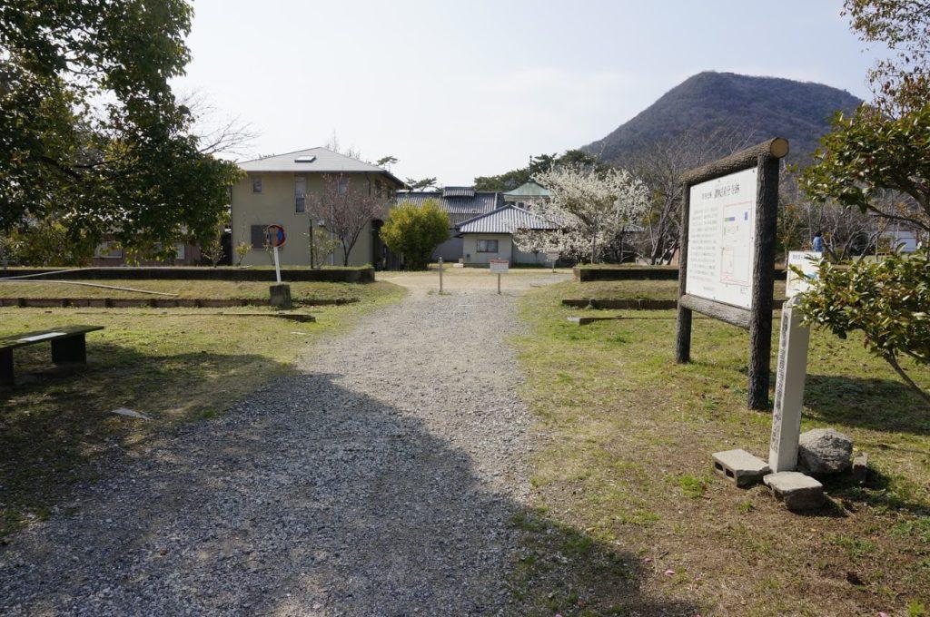 特別史跡讃岐国分寺跡史跡公園東口