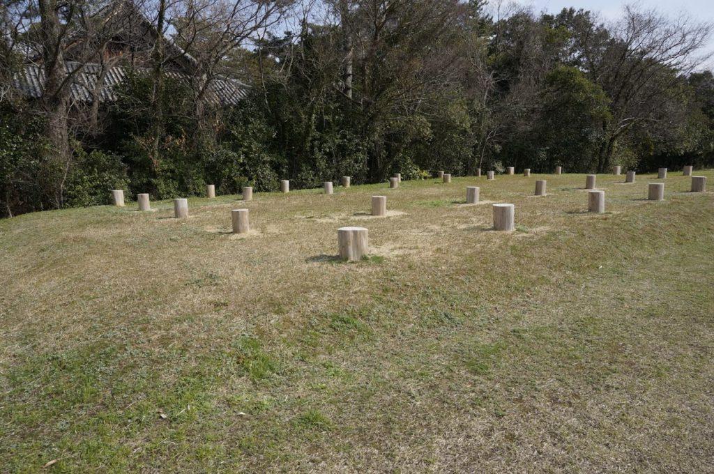 特別史跡讃岐国分寺跡史跡公園掘立柱建物跡
