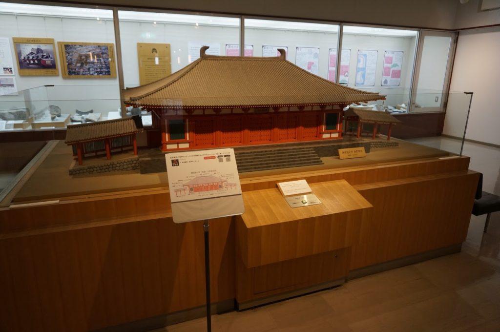讃岐国分寺創建時の金堂模型