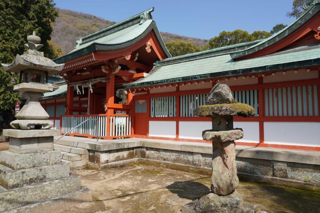 神谷神社神門