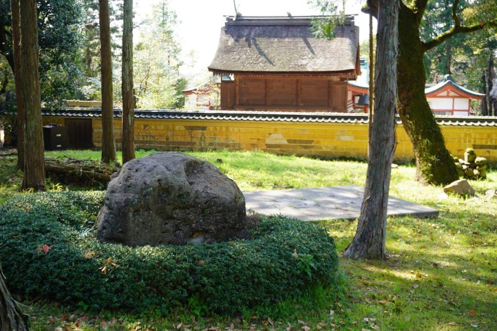神谷神社奥
