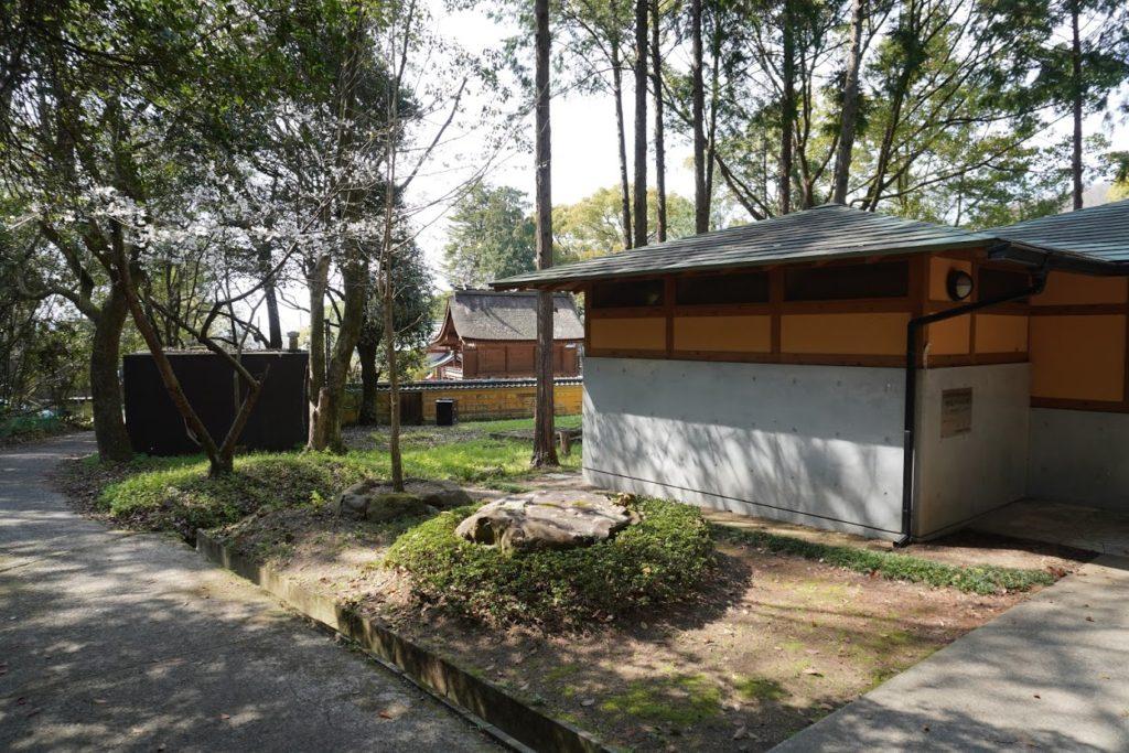 神谷神社の休憩所
