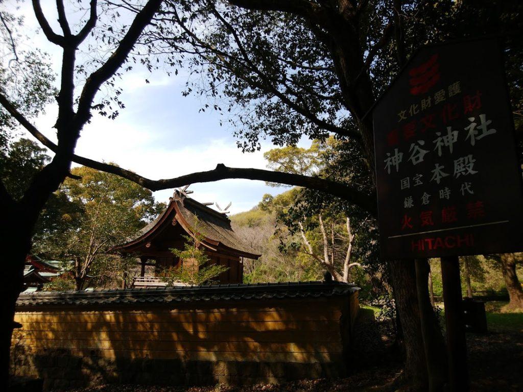 国宝神谷神社社殿