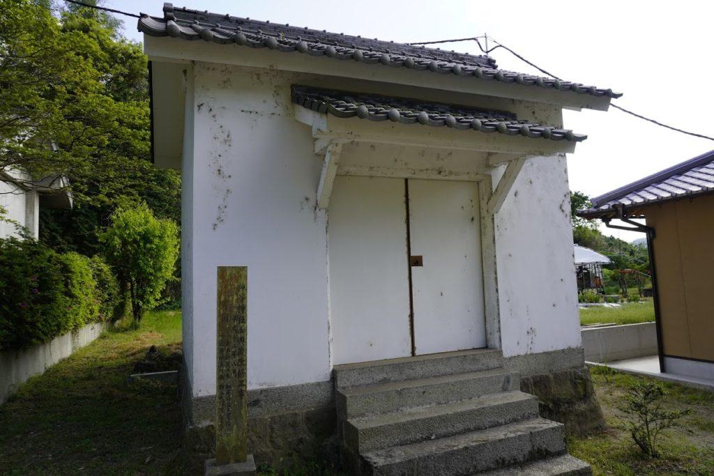 神谷神社の収蔵庫