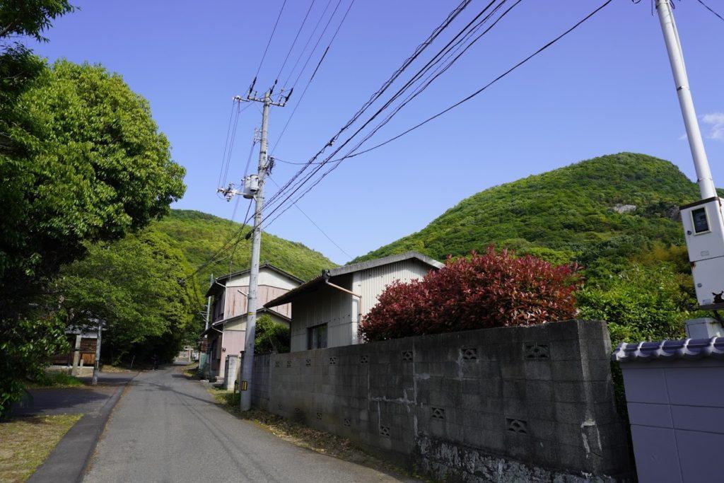 神谷神社のまでの参道