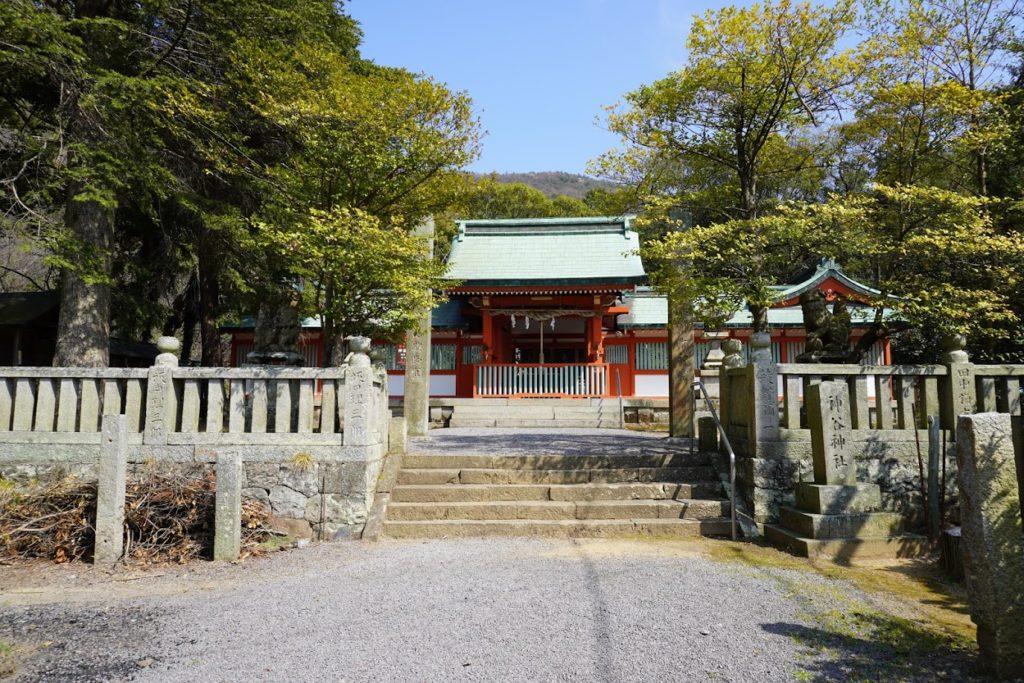 国宝神谷神社の神門