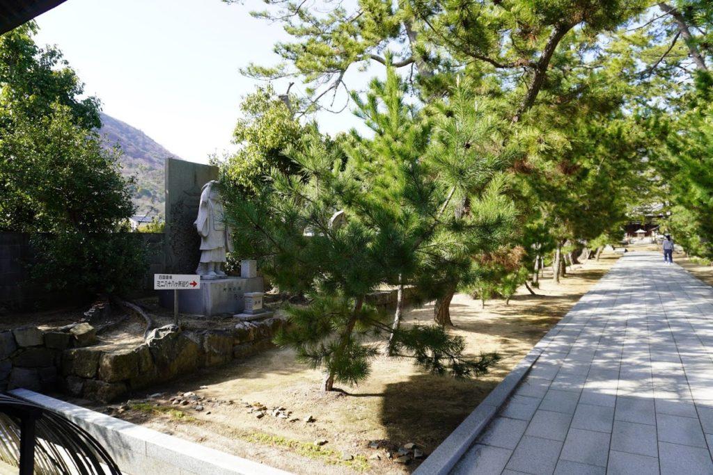 讃岐国分寺参道のミニ八十八ヶ所巡り
