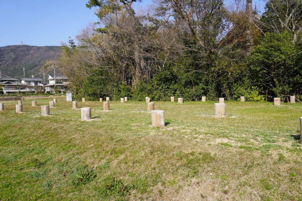 讃岐国分寺跡史跡公園掘立柱建物跡