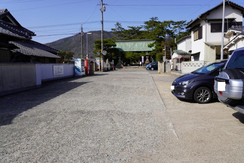 讃岐国分寺駐車場