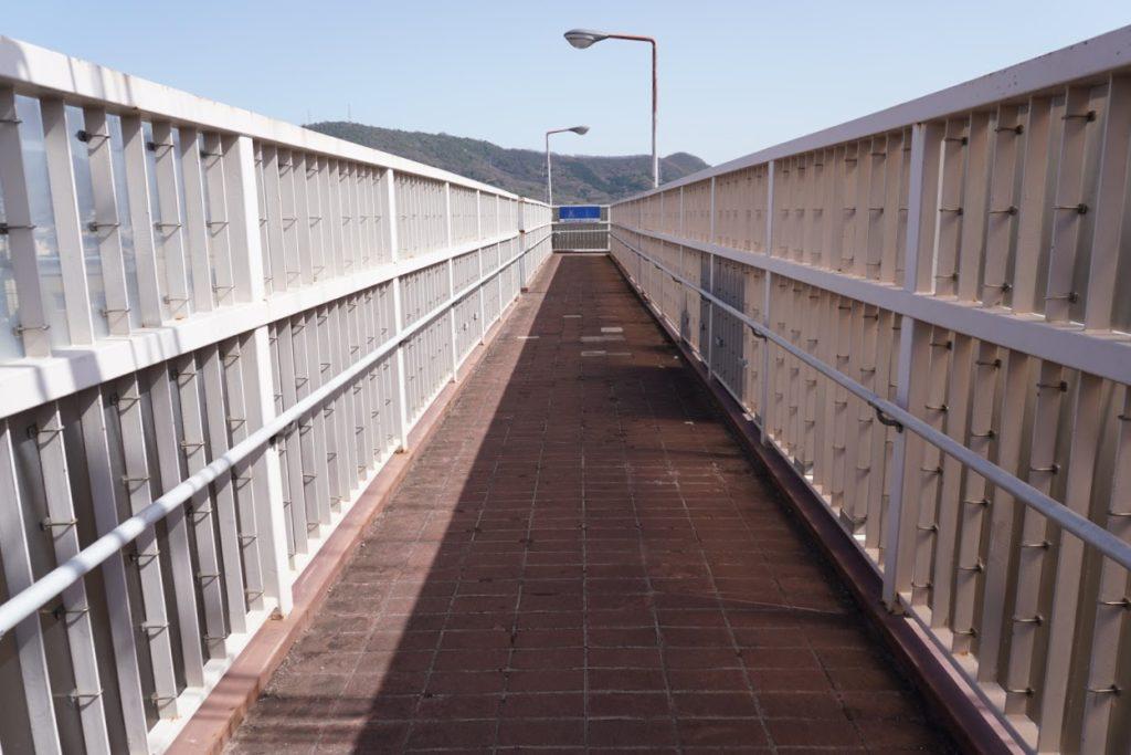 JR鬼無駅付近の歩道・自転車共用橋