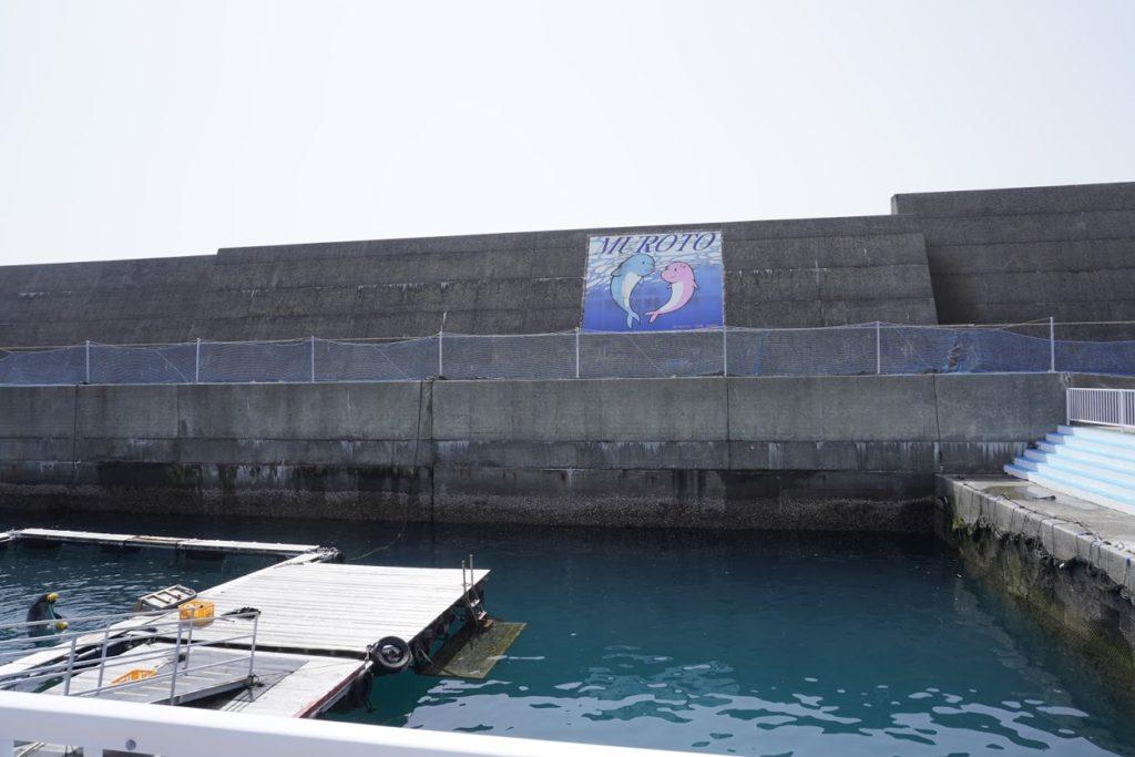 室戸ドルフィンセンター 港飼育水域
