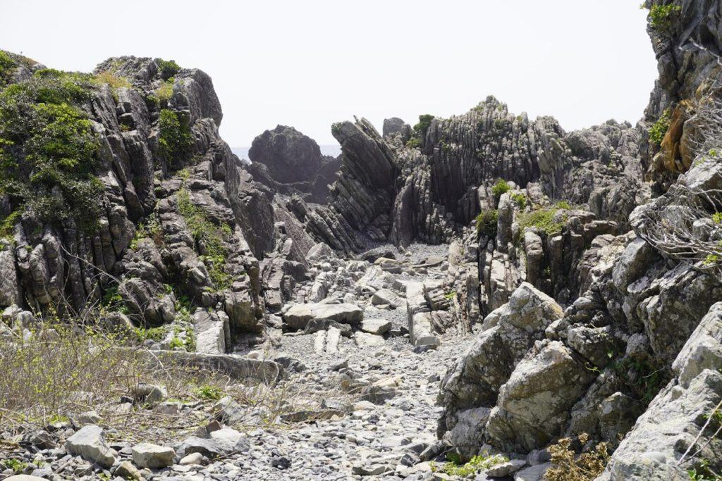 室戸岬タービダイト層