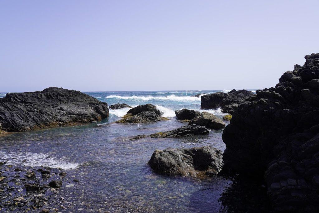 室戸岬から眺める太平洋