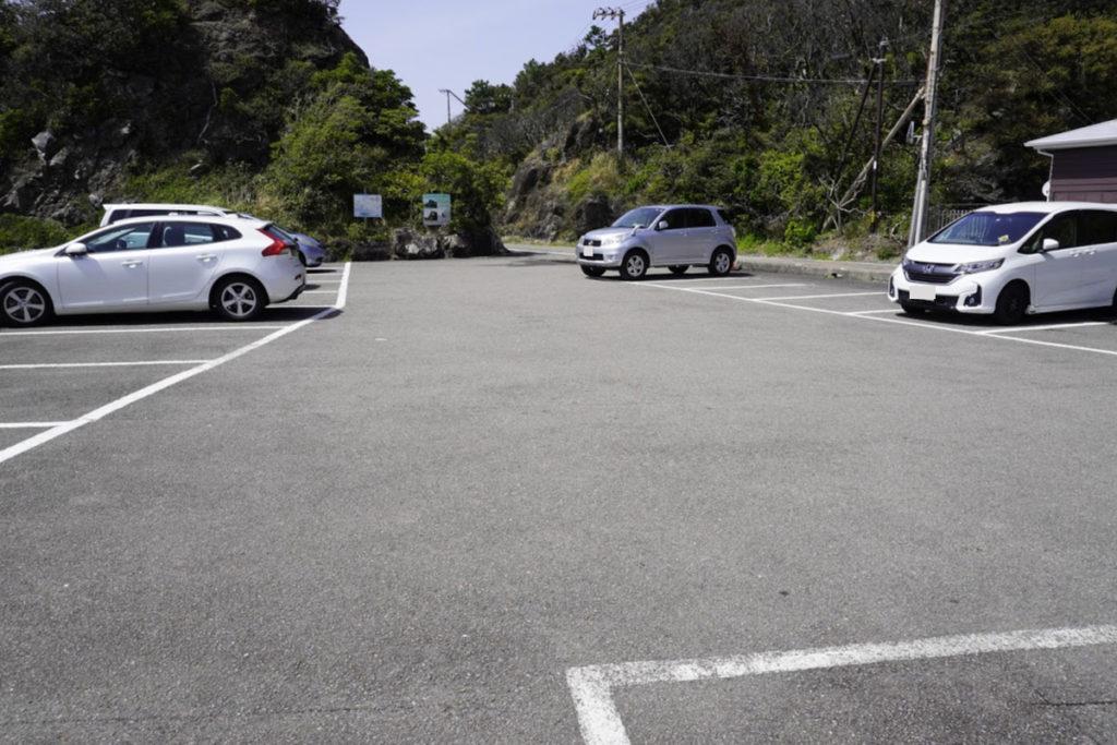 室戸岬灌頂ヶ浜駐車場