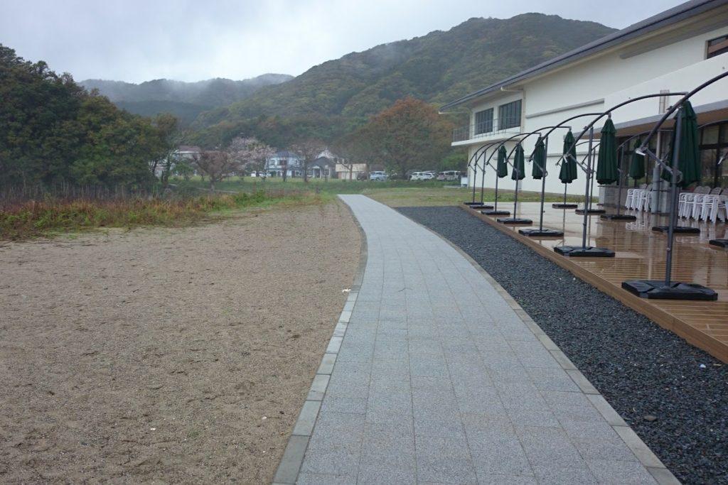 足摺海洋館から竜串海域公園への道