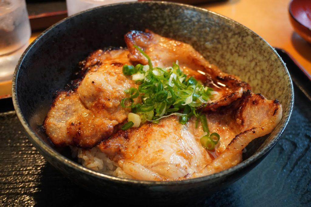 道の駅あぐり窪川レストラン風人米豚丼