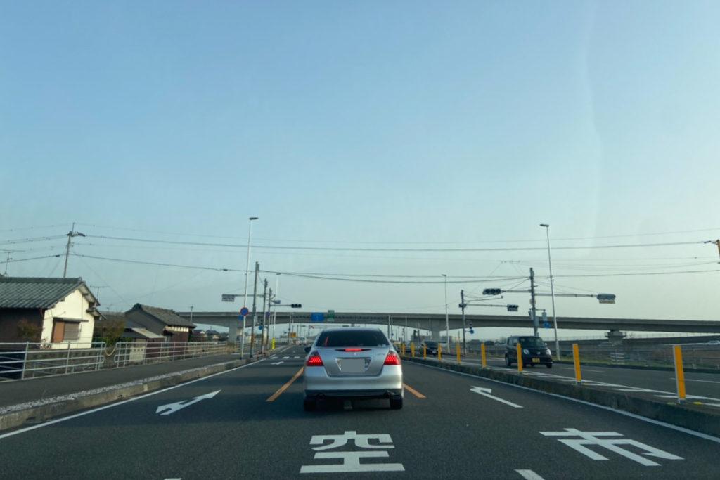 高知南国道路 高知龍馬空港IC北側