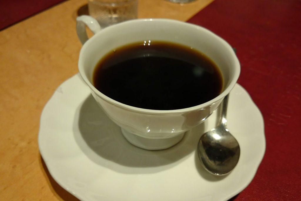 高知市スパゲッティハウスマッキーのコーヒー