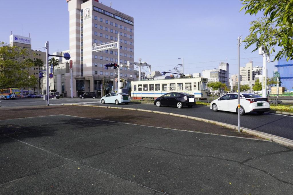 高知駅前 とさ電鉄路面電車