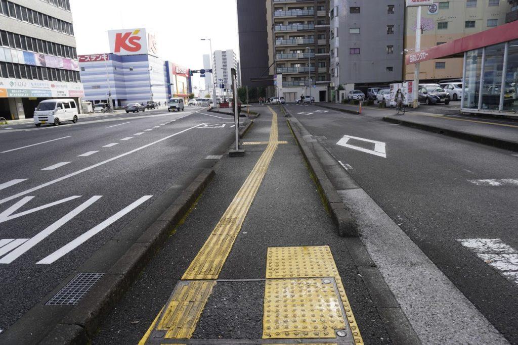 高知駅前土佐電鉄高知駅前停留所があった