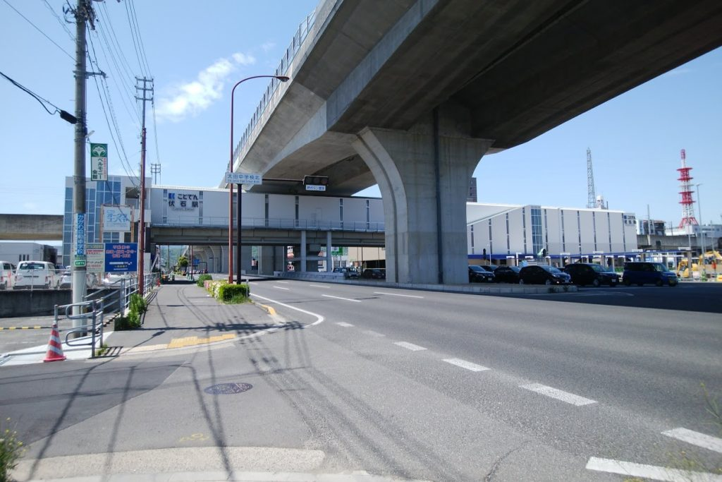 伏石駅南口