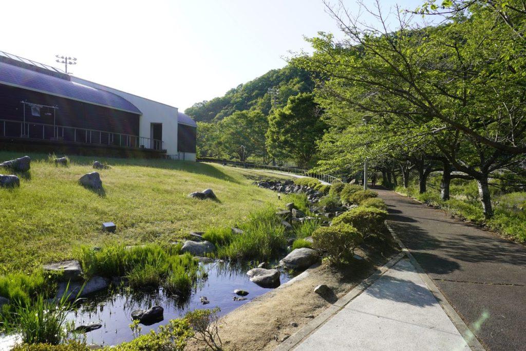 塩江ホタルと文化の里公園 ホタル水路